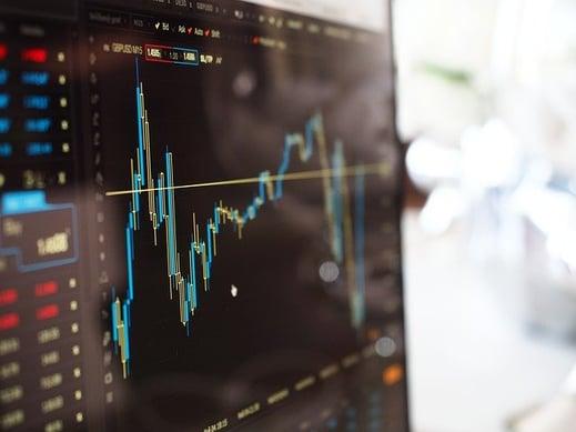 Generic stock market graph